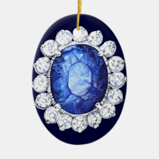 PMACarlson Royal Sapphire Ornament