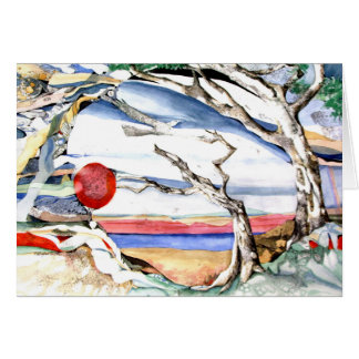 PMACarlson Southwestern Tree Card