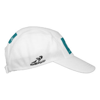 PMO-Knit Performance Hat, White/ Green Hat