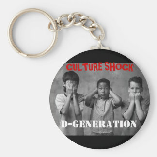 PMS Club Culture Shock Keyring Basic Round Button Key Ring