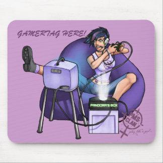 PMS Mousepad- Pandora's Box Purple Mouse Pad