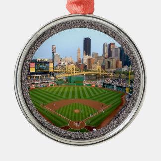 PNC Park-Pittsburgh-Christmas Ornament-Premium Metal Ornament