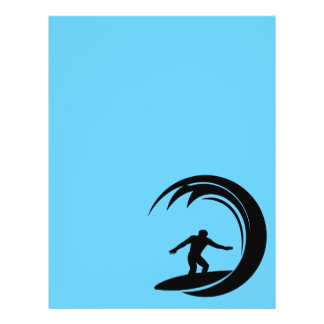 png_vacation06_112607 Surfing Dude 21.5 Cm X 28 Cm Flyer