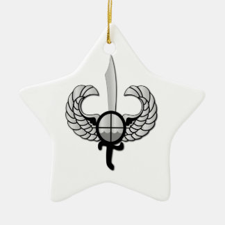 PNP Special Action Force Badge without Text Ceramic Star Decoration