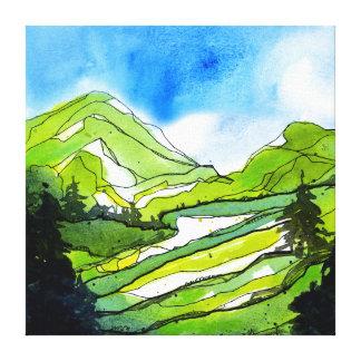 PNW Spring Canvas Print