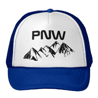 PNW Trucker Hat Big Font