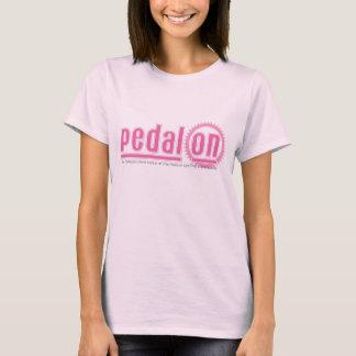 PO pink logo T-Shirt