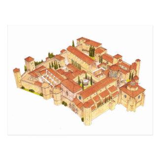 Poblet Monastery. Catalonia Spain Postcard