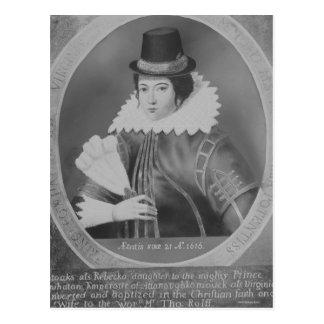 Pocahontas Postcard