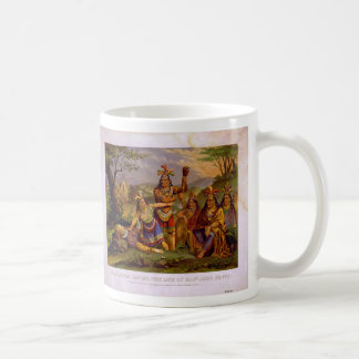 Pocahontas Saving the Life of Captain John Smith Coffee Mug