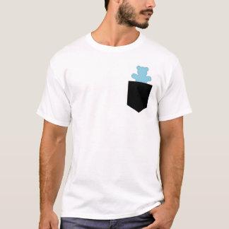 Pocket Bear Blue Otter Chaser Cub T-Shirt