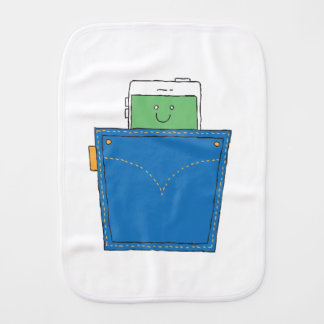 Pocket Buddy Burp Cloth