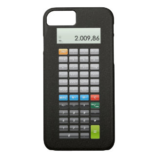 Pocket calculator App iPhone 8/7 Case