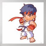 Pocket Fighter Ryu Poster