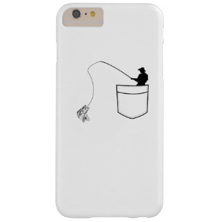 Pocket Fishing  Funny Gift Fisherman Barely There iPhone 6 Plus Case