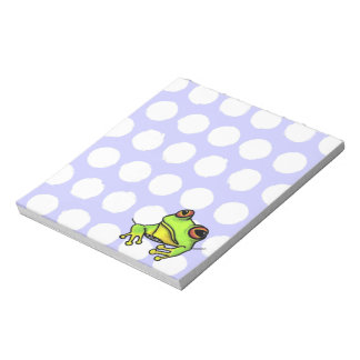 Pocket Frog Notepad