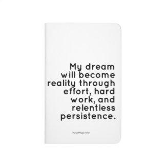 Pocket Journal for Dreamers: Motivational