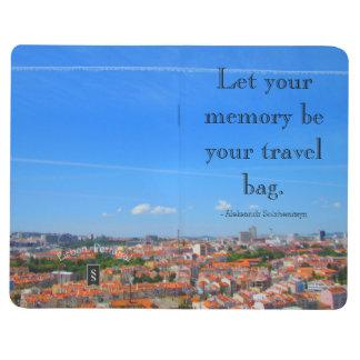 Pocket Journal - Inspiring Travel Quote