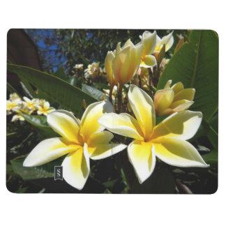 Pocket journal - plumeria blooms