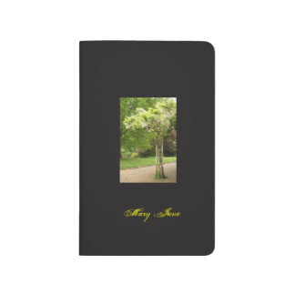 Pocket Journal with Blooming Tree
