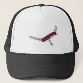 pocket knife trucker hat