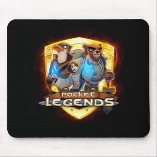 Pocket Legends Gold Logo Mousepad