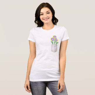 Pocket of flowers T-Shirt