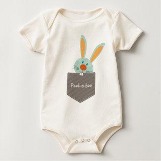 POCKET PALS :: Bunny Rabbit 2 Baby Bodysuit