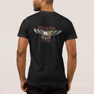 Pocket T Black 2.0 back T-Shirt