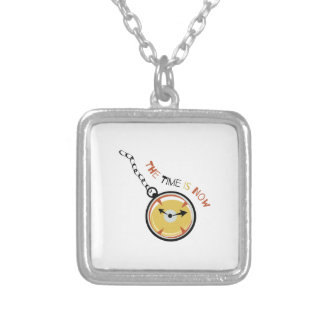 Pocket  Watch  The  Time  Is  Now Pendants