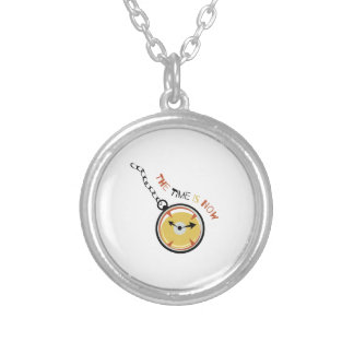 Pocket  Watch  The  Time  Is  Now Necklaces