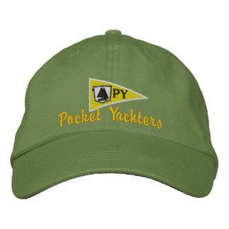 Pocket Yachters Cap Embroidered Hats