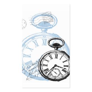 Pocketwatch  Watch Clock Business Cards