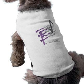 PocoNotes for Puppies Sleeveless Dog Shirt