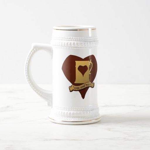 Pod logo (5 years) + Heartstein - on a mug