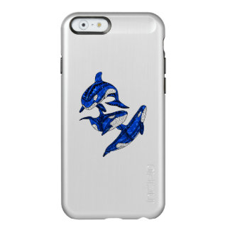Pod Of 3 Tribal Orcas Incipio Feather® Shine iPhone 6 Case