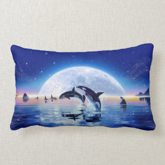 Pod of Orcas Lumbar Cushion