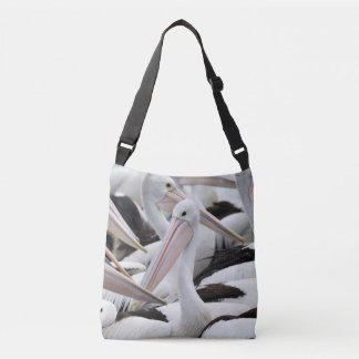 Pod of Pelicans Crossbody Bag