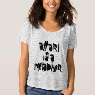 podALMIGHTY.net ALL ART IS A METAPHOR t-shirt