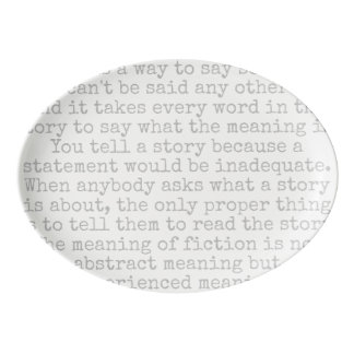 podalmighty.net Flanerry O'connor quote PLATTER