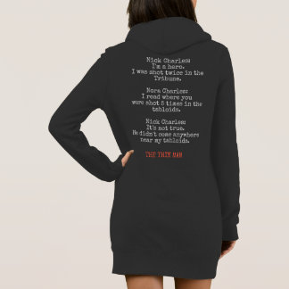 PODALMIGHTY.NET the thin man TABLOIDS LONG HOODIE