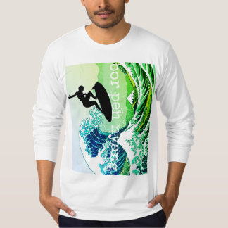 PODALMIGHTY.ROCKS BUKOWSKI BOR PEN NYANG SURFER T-Shirt
