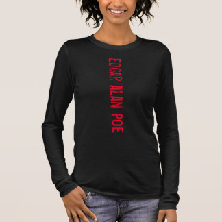 podalmighty.rocks EDGAR ALAN POE POET BEAT Long Sleeve T-Shirt