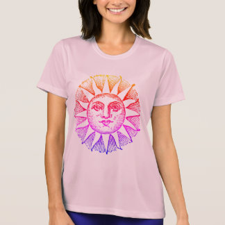 podalmighty.rocks STAR CROSSED SUN FACE RACER T-Shirt