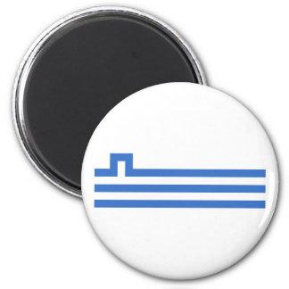 Podgorica, Montenegro 6 Cm Round Magnet