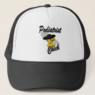 Podiatrist Chick #4 Trucker Hat