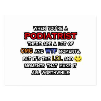 Podiatrist ... OMG WTF LOL Postcard