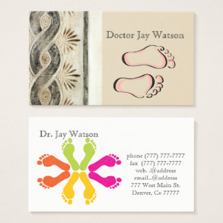 Podiatrist Orthopedist Surgeon Destiny Destiny'S Business Card
