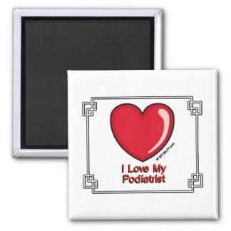 Podiatrist Square Magnet