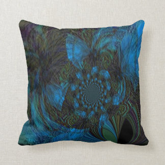 """Pods and Silks"" 16"" x 16"" Polyester Throw Pillow"